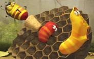 搞笑虫子-蜜蜂系列