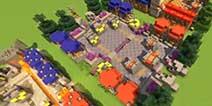 我的世界玩家打造皇室竞技场地图视频