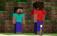 我的世界搞笑动画:两个熊孩子的撕