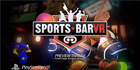 PSVR游戏《体育酒吧VR》官方演示