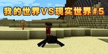 【娱乐】MC游戏VS现实世界第5期