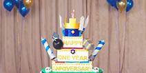 皇室战争1周年庆 让我们炸了这个蛋糕视频