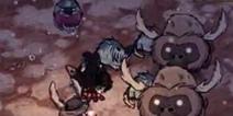 饥荒玩家视频-怕鞭炮的猎犬