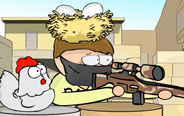 NOOB玩csgo,等得母鸡都孵出小鸡了