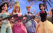 迪士尼公主们的日常撕逼大战