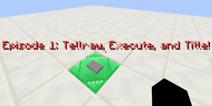 【木有新闻】我的世界pc版命令方块教程1