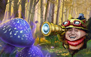 哇哈哈,快走到我的蘑菇阵来吧