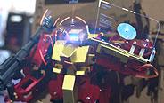 逗逼机器人家中大战!