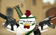 CS枪战,披着枪的母鸡