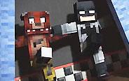 我的世界:蝙蝠侠与坏人的战斗