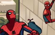 蜘蛛侠的下身跑了