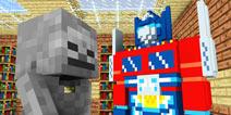【怪物学园】我的世界组装变形金刚