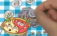 哇,火锅还能在画上吃?