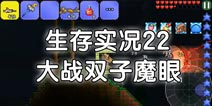 泰拉瑞亚生存实况22:大战双子魔眼【星皓】