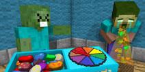 【怪物学园】我的世界彩虹糖豆