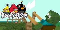【怪物学园】我的世界愤怒的小鸟