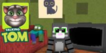 【怪物学园】我的世界会说话的汤姆猫