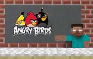 竟然在MC里玩愤怒的小鸟