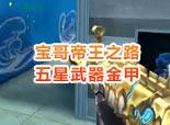 宝哥帝王之路9-五星武器金甲