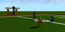 【怪物学园】我的世界pc版足球挑战赛视频
