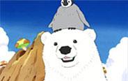 企鹅和北极熊哪个比较怕冷?-- 《快把动物放进冰箱》04话