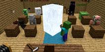 【怪物学园】我的世界冰雕挑战