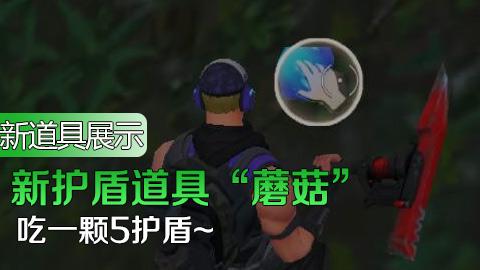 """新护盾道具""""蘑菇""""使用"""