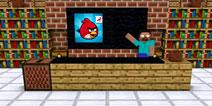 【怪物学园】我的世界之愤怒的小鸟挑战