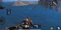 绝地求生刺激战场渔村码头卡进石块bug