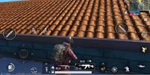 绝地求生刺激战场圆顶仓库上屋顶
