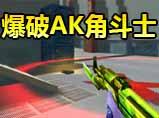 火线精英黑峰_爆破AK角斗士稳拿ACE