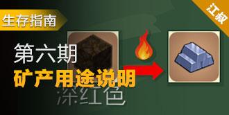 生存指南第六期:矿产用途说明