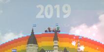 做个跨年彩虹桥 祝大家2019元旦快乐