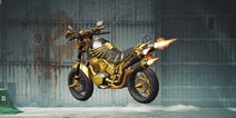 刺激战场国际服骸骨摩托车展示
