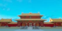 紫禁城地图 恢宏大气