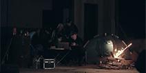 项目组深入西北无人区 无人区采风的高能影片