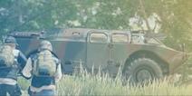 和平精英新载具BRDM-2展示